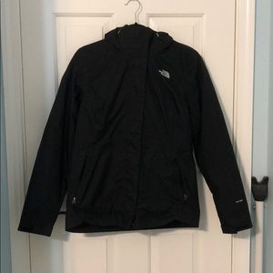 The North Face women's 2 layer snow jacket M